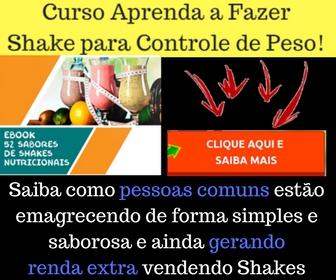 shake emagrecedor mercado livre