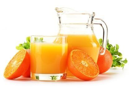 Sucos Naturais laranja com mel