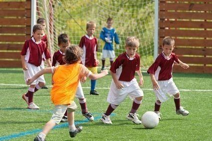 atividade física com criançãs