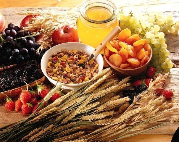 lista de alimentos ricos em fibras