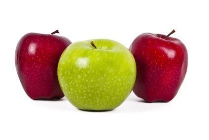 alimentos ricos em fibras maçã