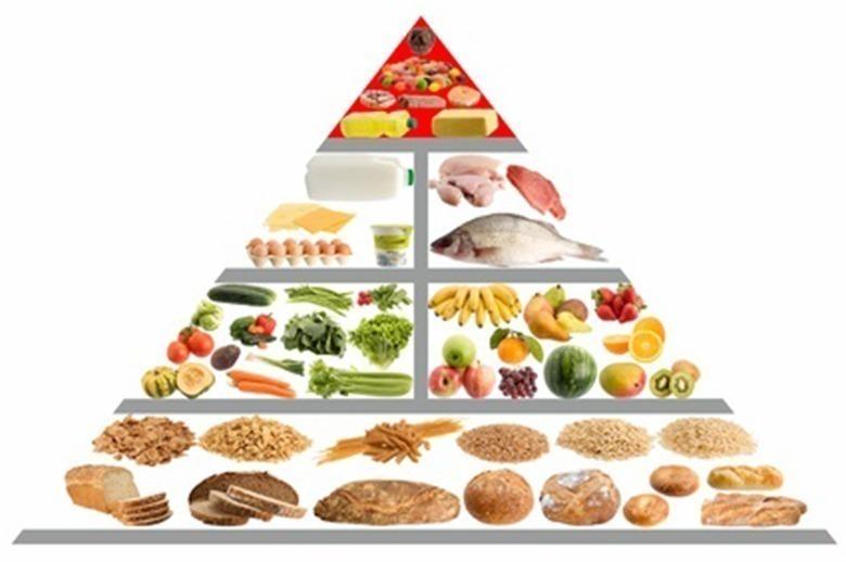 pirâmide alimentar brasileira