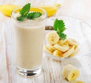 receita de milk shake caseiro de banana