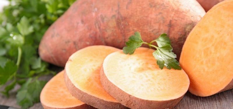Dieta da batata doce Benefícios