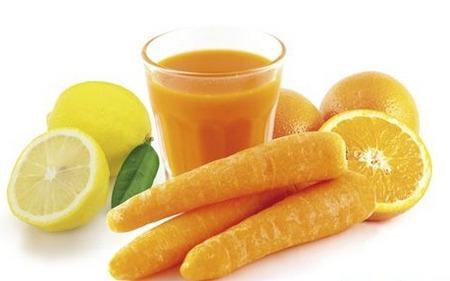 como fazer um suco de cenoura