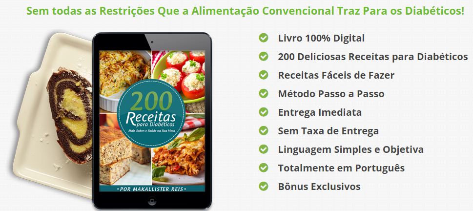 200 receitas para diabéticos download