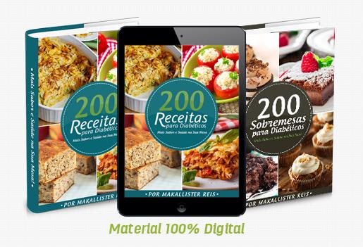 200 receitas para diabéticos pdf