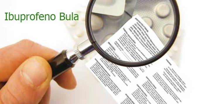 Ibuprofeno Bula
