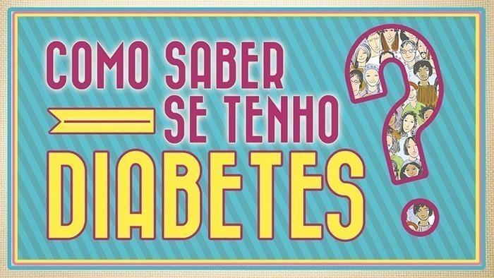 como saber se tenho diabetes