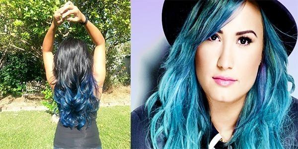cabelo colorido como fazer