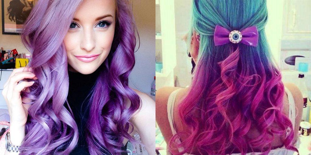 cabelo colorido cuidados