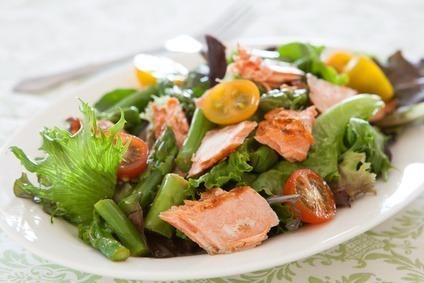 deliciosa salada de bacalhau
