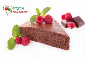 receita de bolo de chocolate light