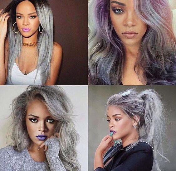 como deixar o cabelo cinza com violeta genciana