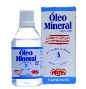 óleo mineral laxante