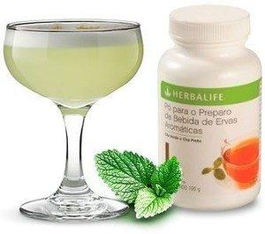 Produtos herbalife cha verde