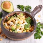 Salada de Grão de Bico | Receita Simples e Saudável