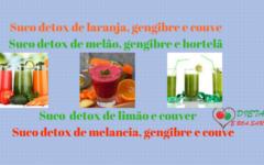 Suco Detox Para Emagrecer Rápido| Melhores Receitas