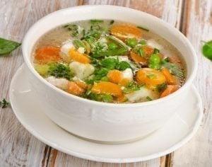 receitas de caldos de vegetais