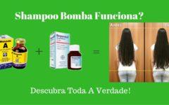 Shampoo Bomba Para Crescer Cabelo Mais Rápido!