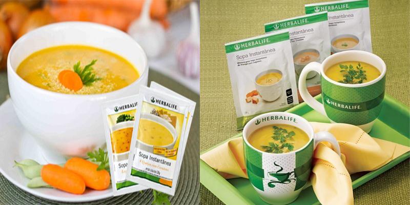 sopa herbalife faz mal