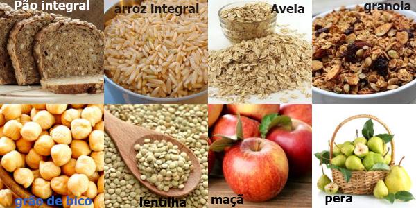 fibras alimentos