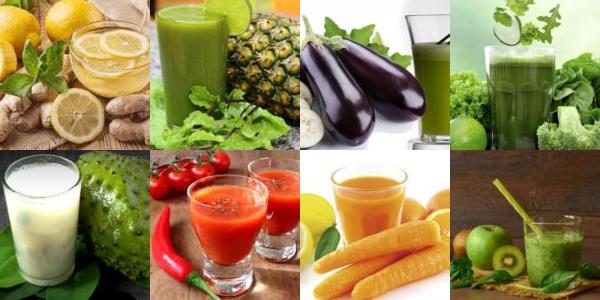receitas de sucos para emagrecer rapido