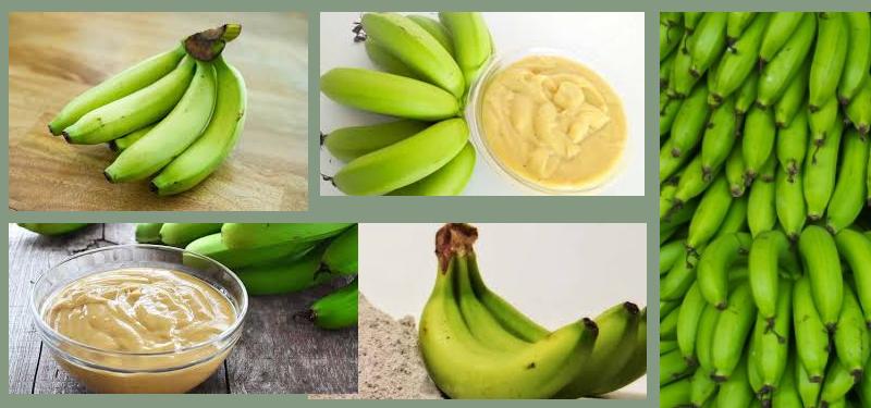 Banana Verde Benefícios