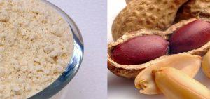 farinha de amendoim beneficios