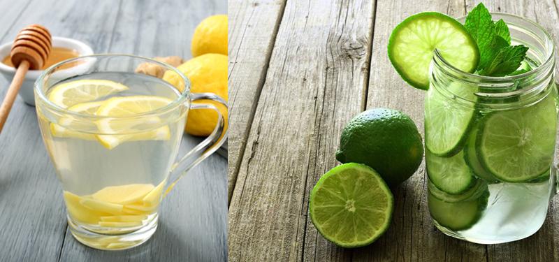 Resultado de imagem para Adicione o limão a sua água