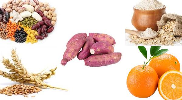 alimentos ricos em fibras solúveis
