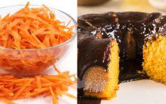 Bolo Rápido de Cenoura: Simples e Prático!