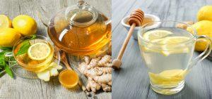 agua de gengibre com limão receita