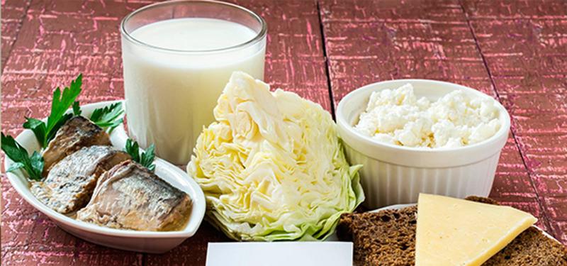 alimentos ricos calcio tabela