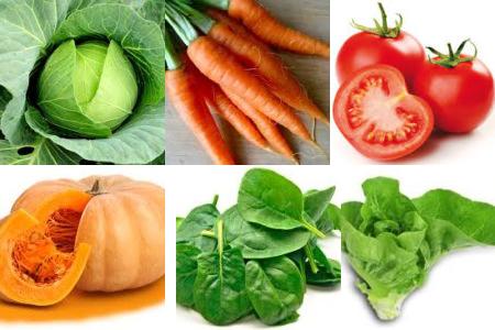 betacaroteno alimentos