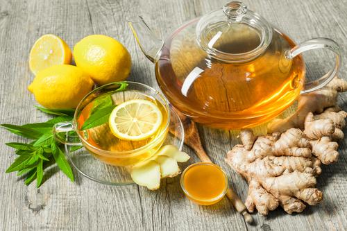 chá de gengibre com limão receita