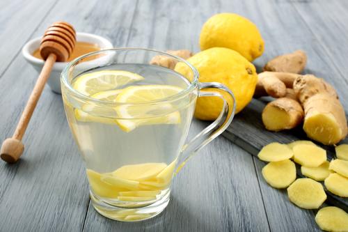gengibre com limão como fazer