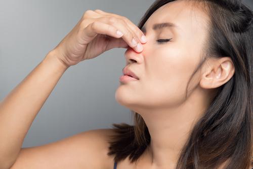 nariz entupido e falta de ar