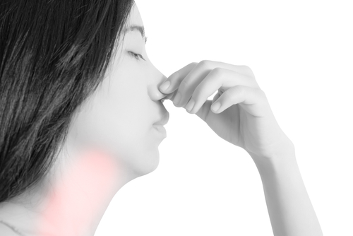 nariz entupido seco