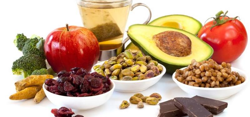 Alimentos ricos em flavonoides