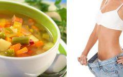 Dieta da sopa: Prós e Contras.