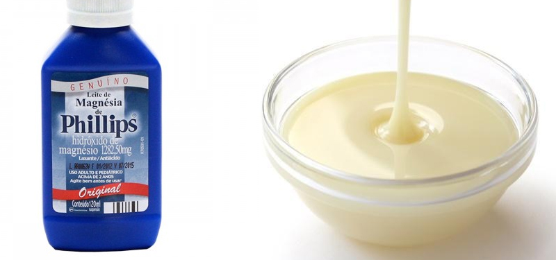 para que serve leite de magnésia