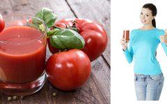 Benefícios e Algumas Receitas de Suco de Tomate.
