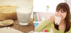 uso excessivo de leite soja