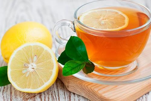 chá de folha de laranja