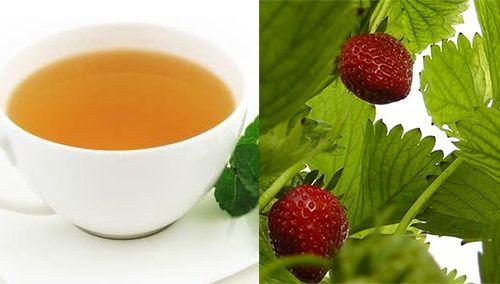 Como fazer chá de folha de morango