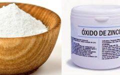 Óxido de zinco para pele: propriedades e fórmula.