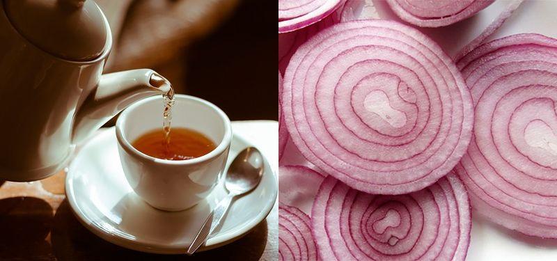 Chá de Cebola Menstruação