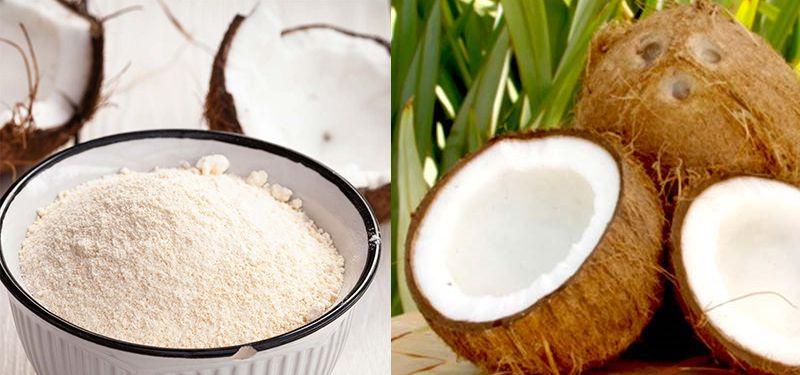 Farinha de coco emagrece