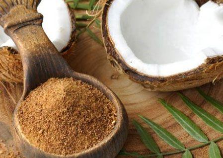 Propriedades do açúcar de coco